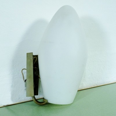 2 x Trento wall lamp by Aloys Gangkofner for Peill & Pützler, 1950s