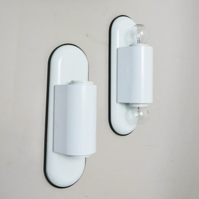 Set of 2 Dui wall lamps from the seventies by Vico Magistretti for Artemide