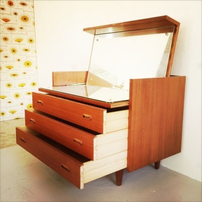 Chest of drawers from the fifties by unknown designer for unknown producer