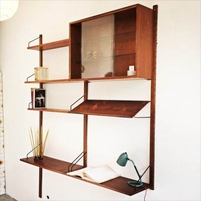 Royal System wall unit from the fifties by Poul Cadovius for Royal System