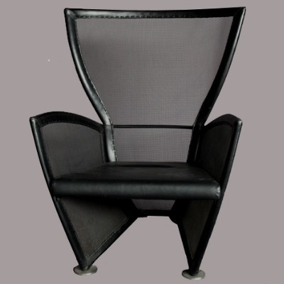 Privé lounge chair by Paolo Nava, 1980s