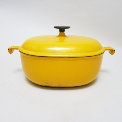 Cooker by Enzo Mari for Le Creuset, 1970s