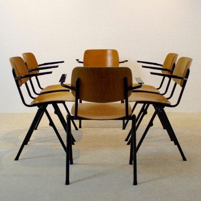 30 x Marko Holland dining chair, 1960s