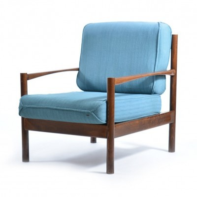 4 lounge chairs from the seventies by unknown designer for unknown producer