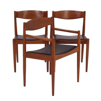 2 x Bramin dinner chair, 1970s