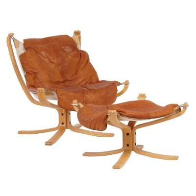 Falcon lounge chair from the seventies by Sigurd Russel for Vatne Møbler