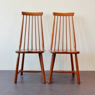 Pair of vintage dining chairs, 1950s