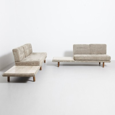 2 Model 6603 daybeds from the sixties by Franz Köttgen for Kill International