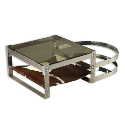 Coffee table from the sixties by Willy Rizzo for unknown producer