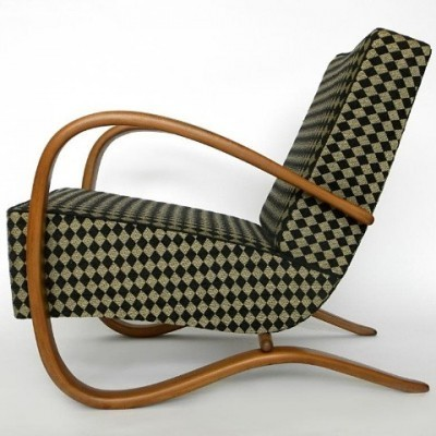 Arm chair from the thirties by Jindřich Halabala for UP Závody