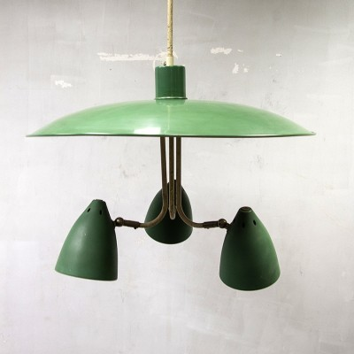 Hanging lamp from the fifties by H. Busquet for Hala Zeist