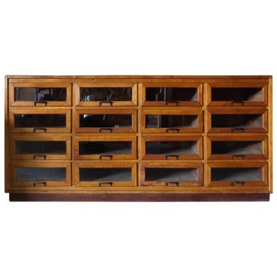 Haberdashery Retail Unit chest of drawers from the twenties by unknown designer for unknown producer
