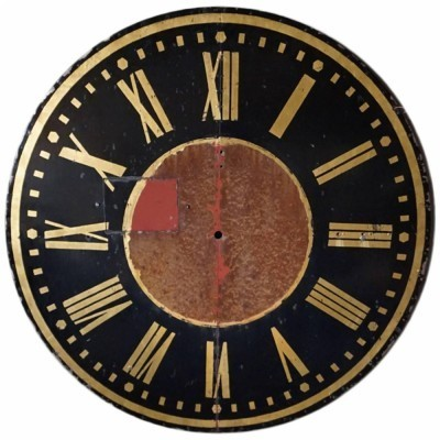 2 Clock Face Church clocks from the twenties by unknown designer for unknown producer