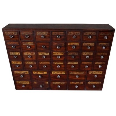 Chest of drawers from the twenties by unknown designer for unknown producer