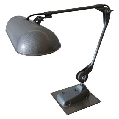 Desk lamp from the forties by unknown designer for Rademacher