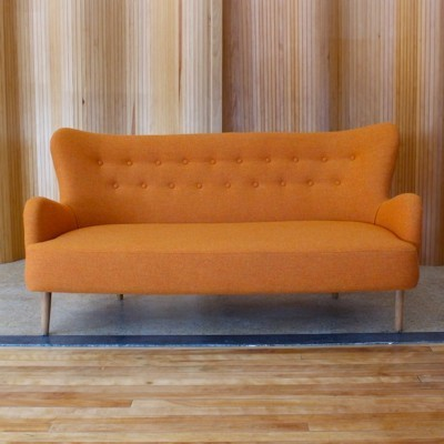 DA sofa from the forties by Ernest Race for Race Furniture