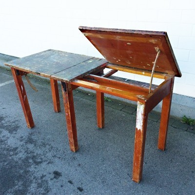 Children furniture from the fifties by unknown designer for unknown producer