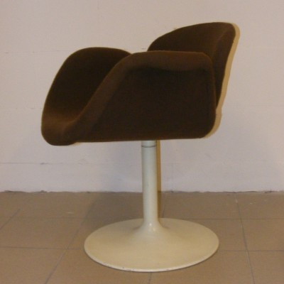 Set of 6 Little Tulip lounge chairs from the sixties by Pierre Paulin for Artifort