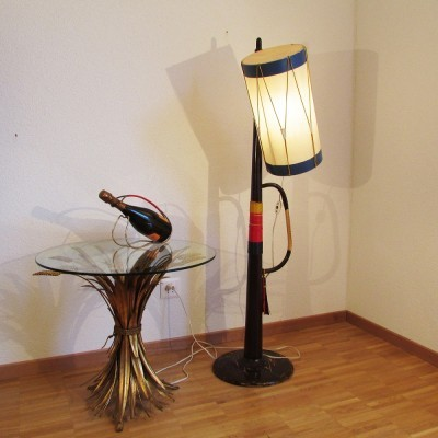 Jazz Band floor lamp from the forties by unknown designer for unknown producer