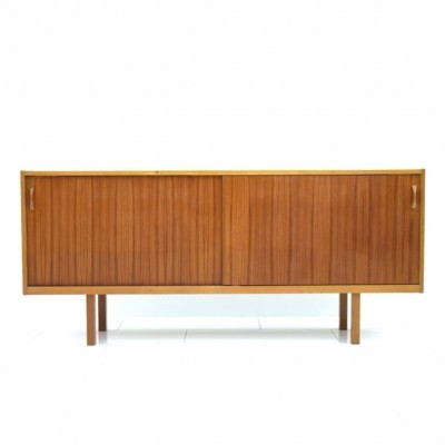 Scandinavian Teak Wood Sideboard, 1960s