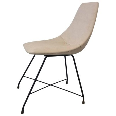 Aster dinner chair by Augusto Bozzi for Saporiti, 1950s