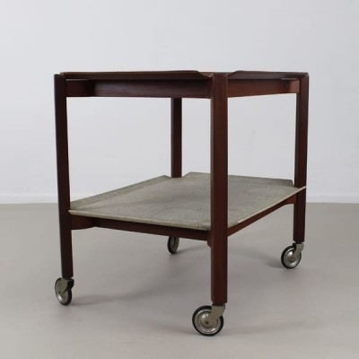 PT10 serving trolley from the fifties by Cees Braakman for Pastoe