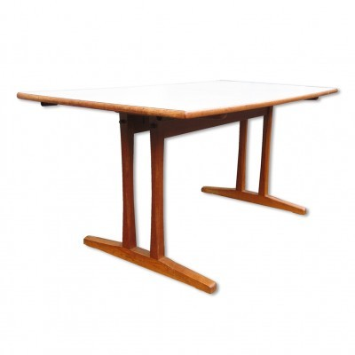 C 18 dining table by Børge Mogensen for FDB Møbler, 1950s