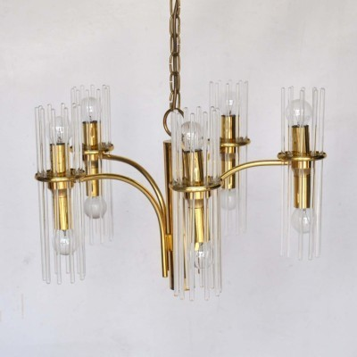 Hanging lamp from the sixties by Gaetano Sciolari for Lightolier USA