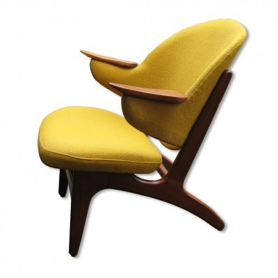 Model 33 lounge chair from the fifties by Carl Edward Matthes for Matthes Furniture