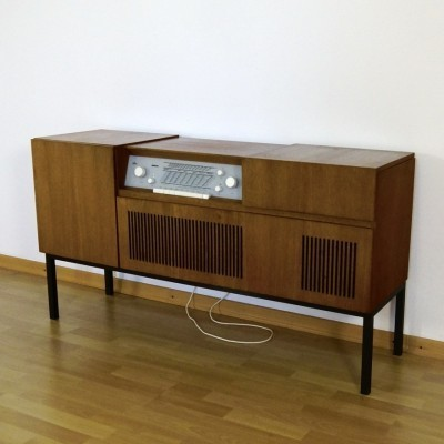 HM 6 Radio Stereo Chest cabinet from the fifties by Herbert Hirche for Braun