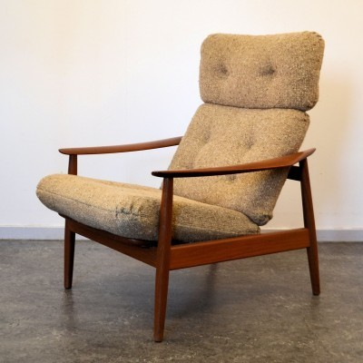 Lounge chair from the sixties by Arne Vodder for Cado