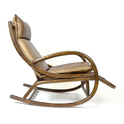 Rocking chair from the eighties by unknown designer for unknown producer