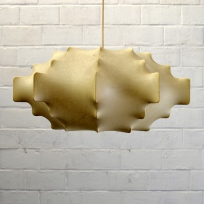Cocoon hanging lamp from the sixties by Achille Giacomo Castiglioni for Flos