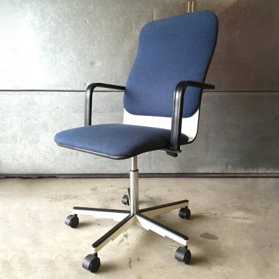 Sirkus office chair by Yrjö Kukkapuro for Avarte Finland, 1980s