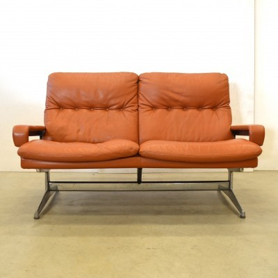 King sofa from the sixties by André Vandenbeuck for Strässle