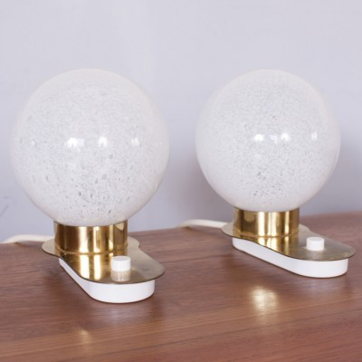 Set of 2 desk lamps from the sixties by unknown designer for Doria Leuchten