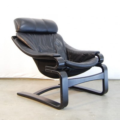 Apollo lounge chair from the seventies by unknown designer for Skippers Møbler