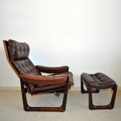 Lounge chair from the sixties by unknown designer for VAD Trævarefabrik