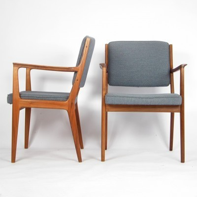 2 arm chairs from the sixties by Karl Erik Ekselius for J. O. Carlsson