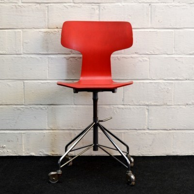Model 3103 office chair by Arne Jacobsen for Fritz Hansen, 1950s