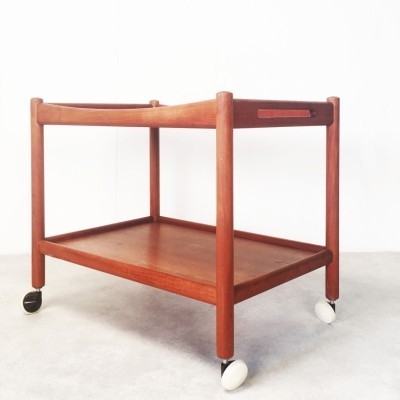 Serving trolley from the sixties by Hans Wegner for Andreas Tuck
