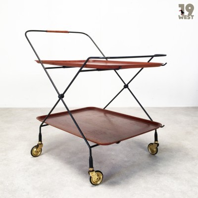 Serving trolley from the fifties by unknown designer for JIE Gantofta