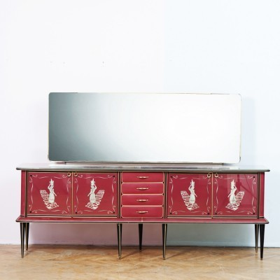 Sideboard from the forties by Umberto Mascagni for Mascagni