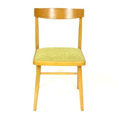 2 dinner chairs from the sixties by unknown designer for Ton Czechoslovakia