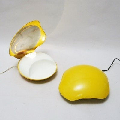 Pair of Shell desk lamps by GAMMA3, 1970s