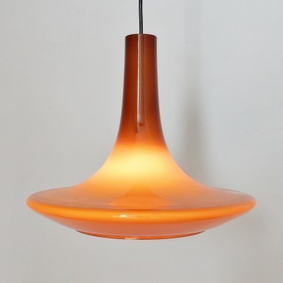 4 hanging lamps from the sixties by unknown designer for Peill & Pützler