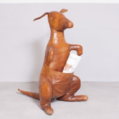 Kangaroo magazine holder from the sixties by unknown designer for Sarreid