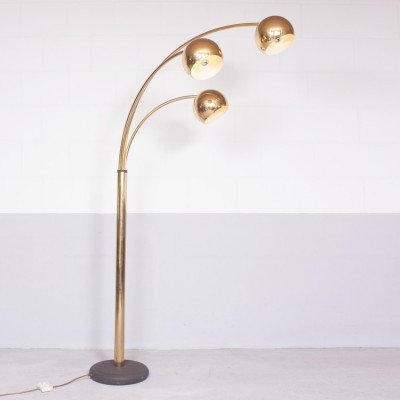 Arc floor lamp from the seventies by unknown designer for unknown producer