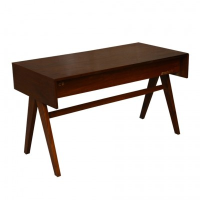 2 x Student Desk For Education Buildings In Chandigarh writing desk by Pierre Jeanneret