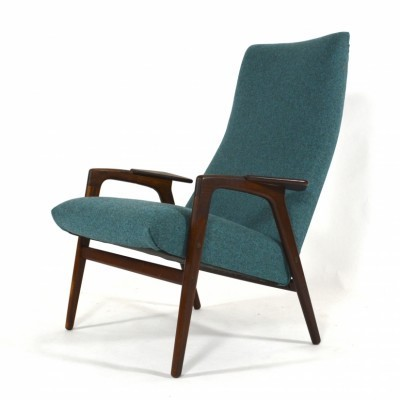 Ruster Gentleman lounge chair from the fifties by Yngve Ekström for Pastoe
